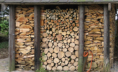 Graphic Log Pile